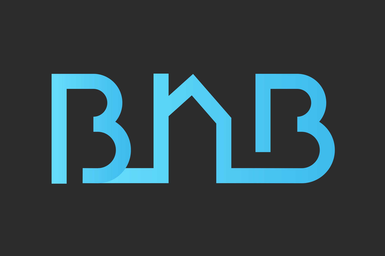 BNB ingenieurburo logo black background