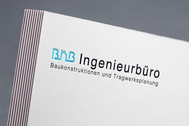 BNB ingenieurburo logo mockup second