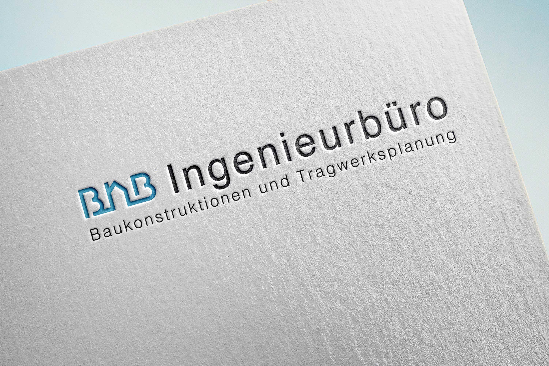 BNB ingenieurburo logo mockup third